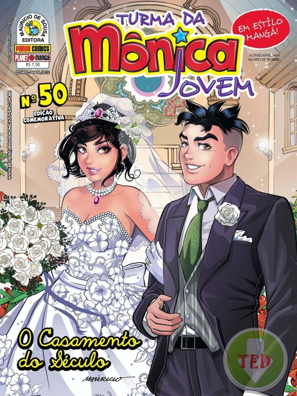 revista turma da mônica jovem Casamento Mônica & Cebola: Leia online!